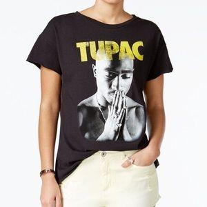 Bravado (NEW) Juniors Tupac Graphic Cotton T-Shirt